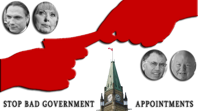 Stop Bad Government Appointments Campaign