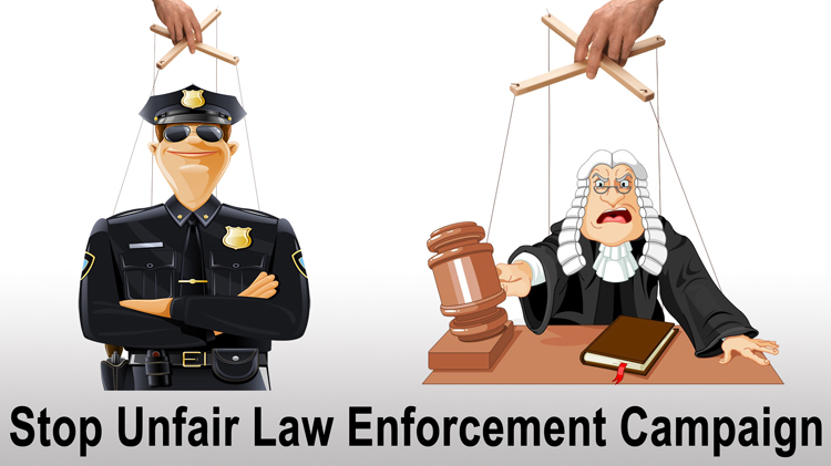 Stop Unfair Law Enforcement Campaign