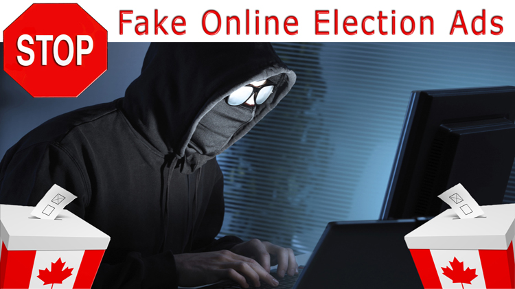 Democracy Watch calls for changes to stop secret fake online election ads that can easily violate spending limits