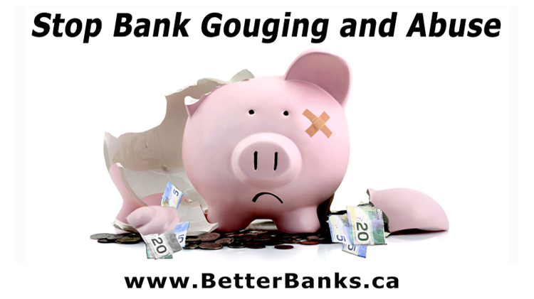 Finance Minister Morneau's Bill C-86 lets Scrooge-like Big Banks keep billions in record profits from gouging, doesn't do enough to stop abuse
