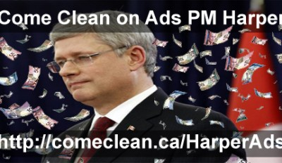 Come Clean on Ads Harper