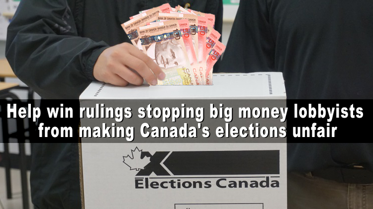 Stopping Big Money Elections Legal Fund