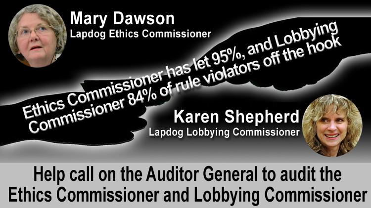 Audit Ethics Commissioner & Lobbying Commissioner
